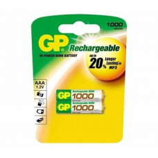 Аккумуляторы AAA (GPRechargeable)