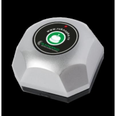 Кнопка вызова RU-7 (серебро)