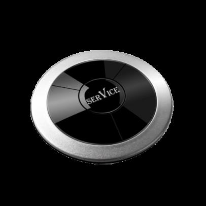 Кнопка вызова RU-1 (серебро)